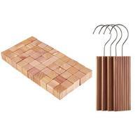 Cedar Wood Moth Repellent Blocks And Cubes Buy Both Save 3